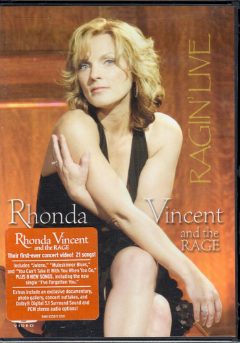 VINCENT, RHONDA AND THE RAGE - Ragin´ Live