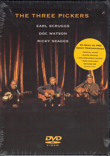 THREE PICKERS, THE - Scruggs / Watson / Skaggs