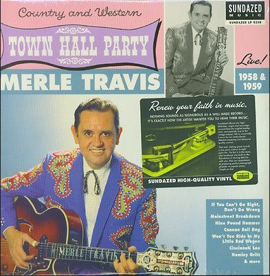 TRAVIS, MERLE - Live At Town Hall Party 1958-59
