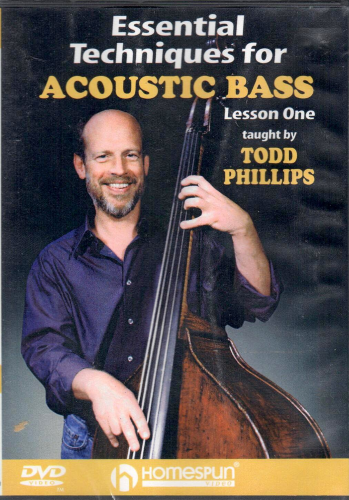 PHILLIPS, TODD - Essential Techniques For Acoustic Bass