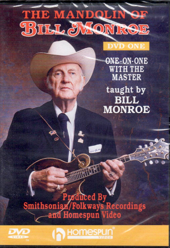 MONROE, BILL - The Mandolin Of Bill Monroe - Lesson One