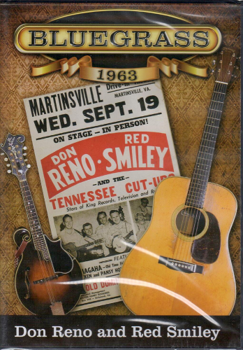 RENO, DON & RED SMILEY - Bluegrass 1963