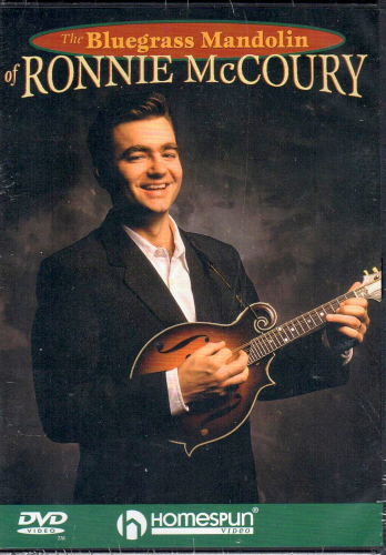 McCOURY, RONNIE - The Bluegrass Mandolin Of Ronnie McCoury