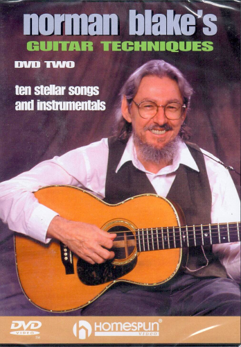 BLAKE, NORMAN - Norman Blake's Guitar Techniques, DVD Two