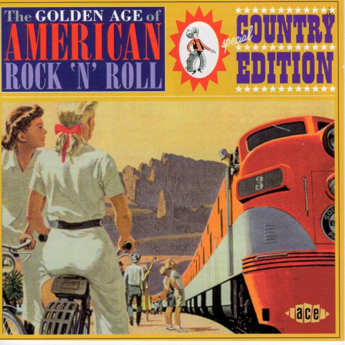 VARIOUS ARTISTS - The Golden Age Of American Rock 'N' Roll, Special Country Edition