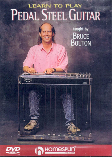 BOUTON, BRUCE - Learn To Play Pedal Steel Guitar