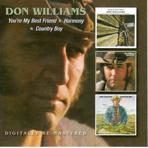 WILLIAMS, DON - You're My Best Friend + Harmony + Country Boy