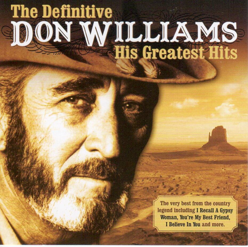 WILLIAMS, DON - The Definitive Don Williams-His Greatest Hits