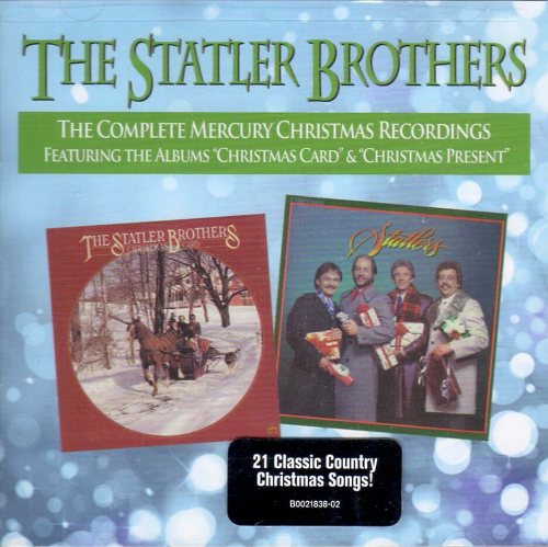 STATLER BROTHERS, THE - The Complete Christmas Recordings