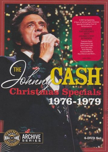 CASH, JOHNNY - The Johnny Cash Christmas Specials 1976-1979