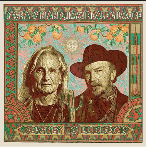 ALVIN, DAVE AND JIMMIE DALE GILMORE - Downey To Lubbock