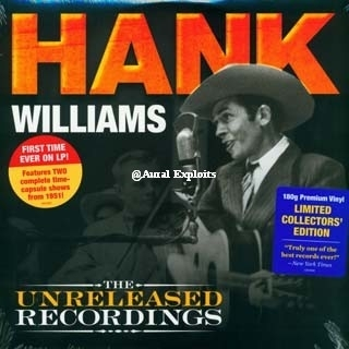WILLIAMS, HANK - The Unreleased Recordings