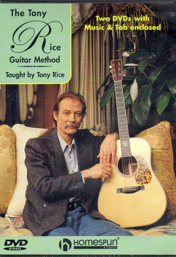 RICE, TONY - The Tony Rice Guitar Method