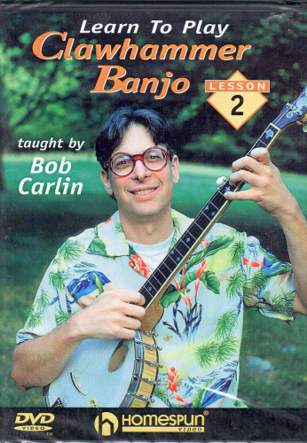 CARLIN, BOB - Learn To Play Clawhammer Banjo, Lesson 2