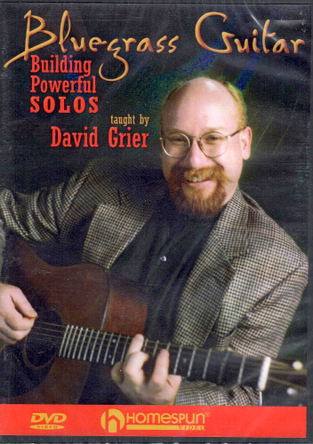 GRIER, DAVID - Bluegrass Guitar