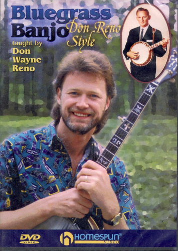 RENO, DON WAYNE - Bluegrass Banjo-Don Reno Style
