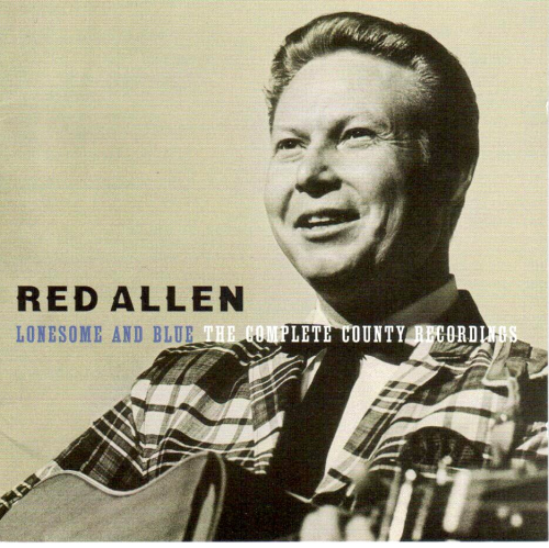 ALLEN, RED - Lonesome And Blue