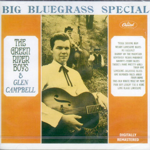 CAMPBELL, GLEN - Big Bluegrass Special