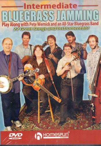WERNICK, PETE AND THE ALL-STAR BLUEGRASS BAND - Intermediate Bluegrass Jamming