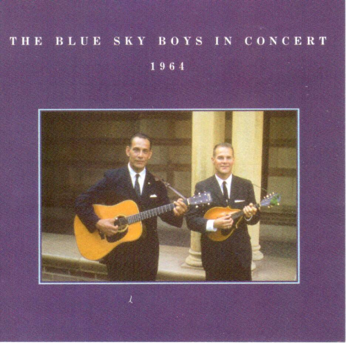 BLUE SKY BOYS, THE - In Concert 1964