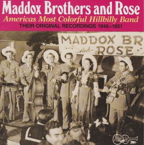 MADDOX BROTHERS, THE & ROSE - Vol. 1