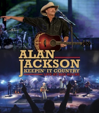 JACKSON, ALAN - Keepin' It Country: Live At Red Rock