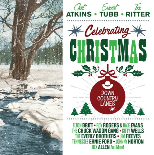 VARIOUS ARTISTS - Celebrating Christmas-Down Country Lanes