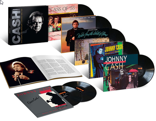 CASH, JOHNNY - Complete Mercury Albums 1986-1991 (Limited Box)