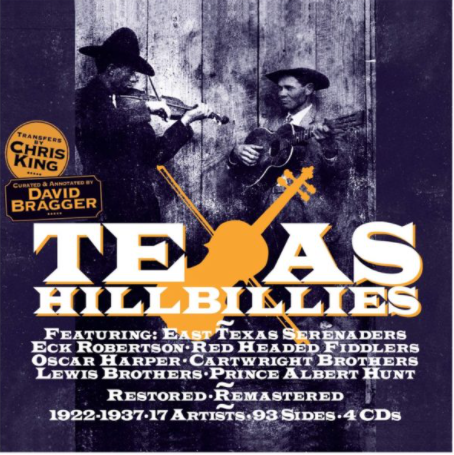 VARIOUS ARTISTS - Texas Hillbillies 1922-1937