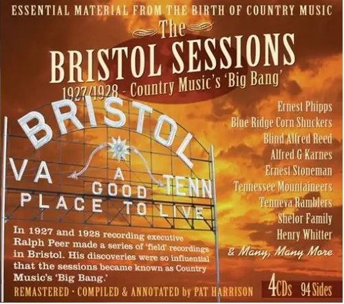 VARIOUS ARTISTS - The Bristol Sessions 1927/1928: Country Music's 'Big Bang'