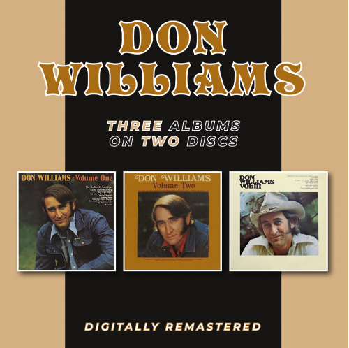 WILLIAMS, DON - Volume One + Volume Two + Volume III