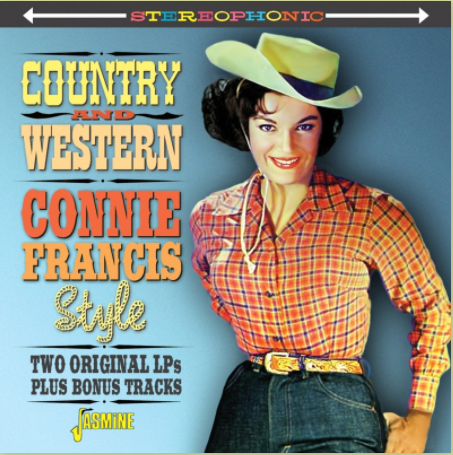 FRANCIS, CONNIE - Country & Western Connie Francis Style: Two Original Lps Plus Bonus Tracks